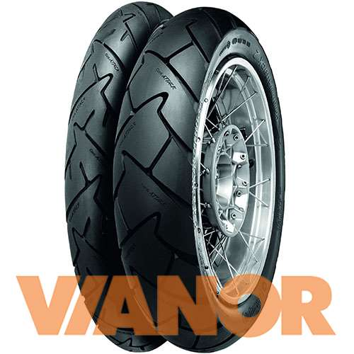 Мотошины Continental Conti Trail Attack 2 110/70 R17 54W Передняя (Front) в Уфе