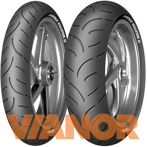 Мотошины Dunlop Sportmax Qualifier II 190/55 R17 75W Задняя (Rear) в Уфе