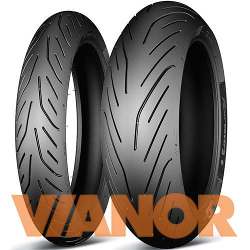 Мотошины Michelin Pilot Power 3 160/60 R15 67H Задняя (Rear) в Уфе