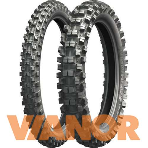Мотошины Michelin Starcross 5 SAND 100/90 R19 57M Задняя (Rear) в Уфе
