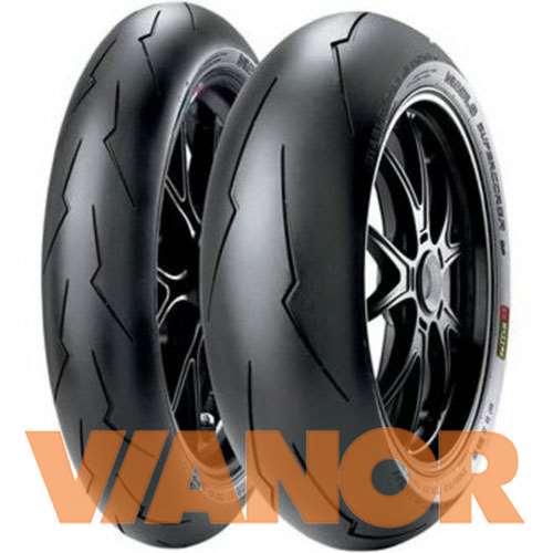 Мотошины Pirelli Diablo Supercorsa V2 200/55 R17 78W Задняя (Rear) в Уфе
