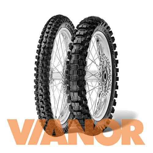 Мотошины Pirelli Scorpion MX Hard 486 100/90 R19 57M Задняя (Rear) в Уфе